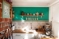 Кухня в деревенском доме, 2017